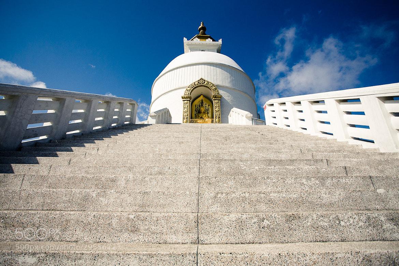 Photograph World Peace Stupa, Pokhara, Nepal by Steffen Walther on 500px