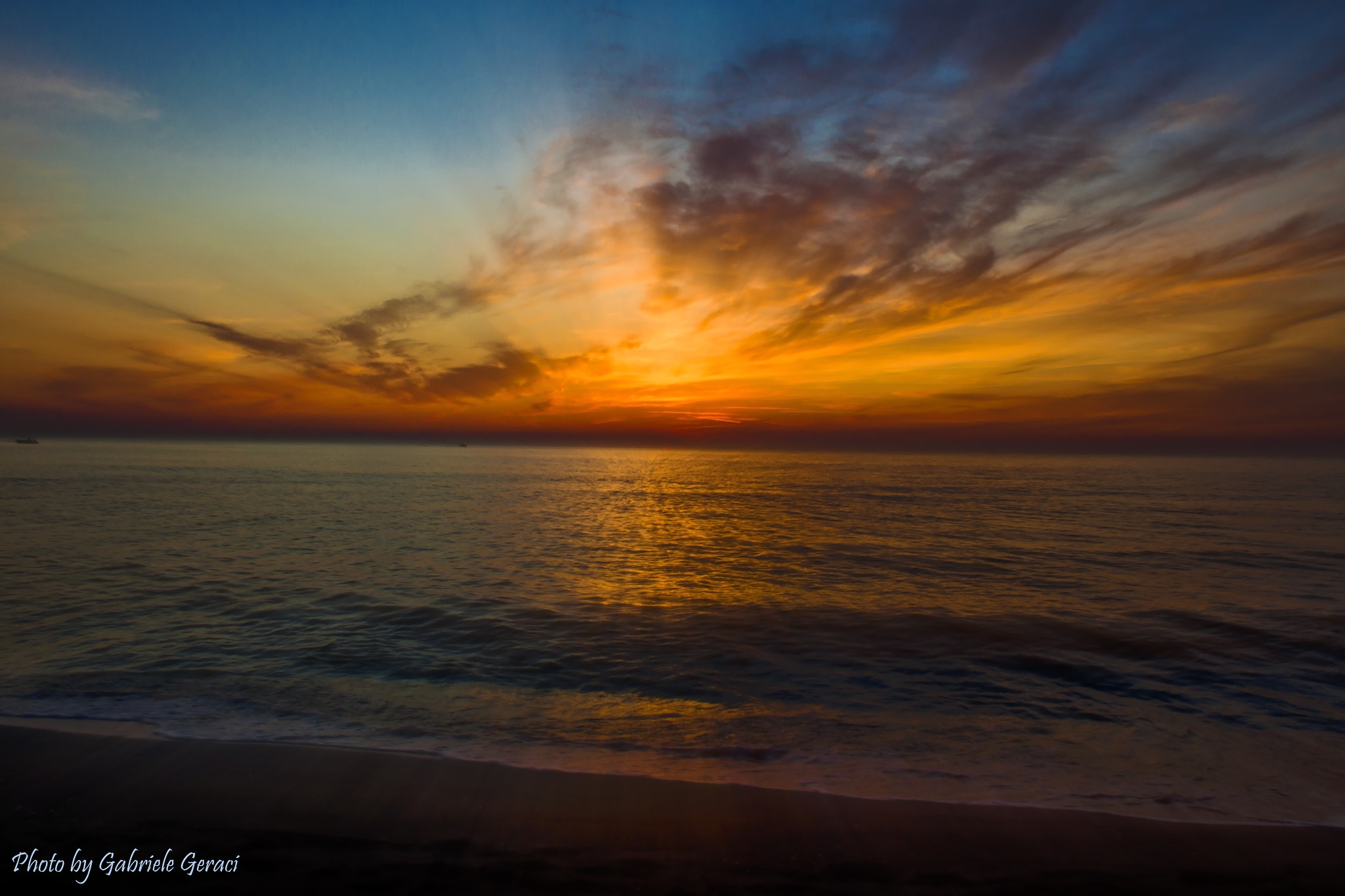 Photograph Tramonto sul mare by Gabriele Geraci on 500px