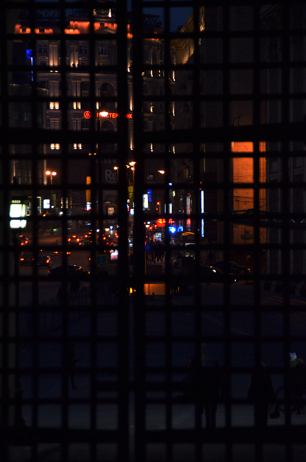 Photograph Lights of the Moscow behind the Iron door... by Korhan Karagulle on 500px