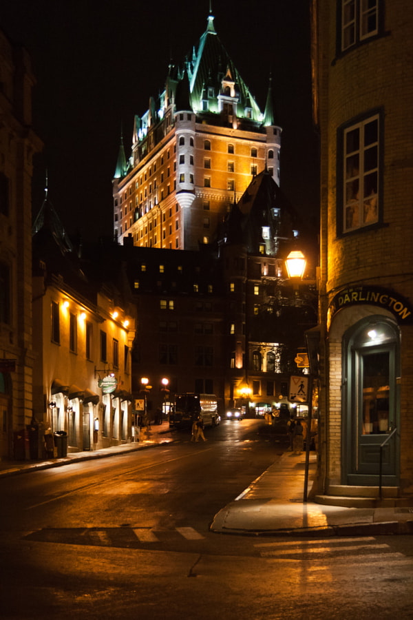 Quebec City by Richard Keeling on 500px.com