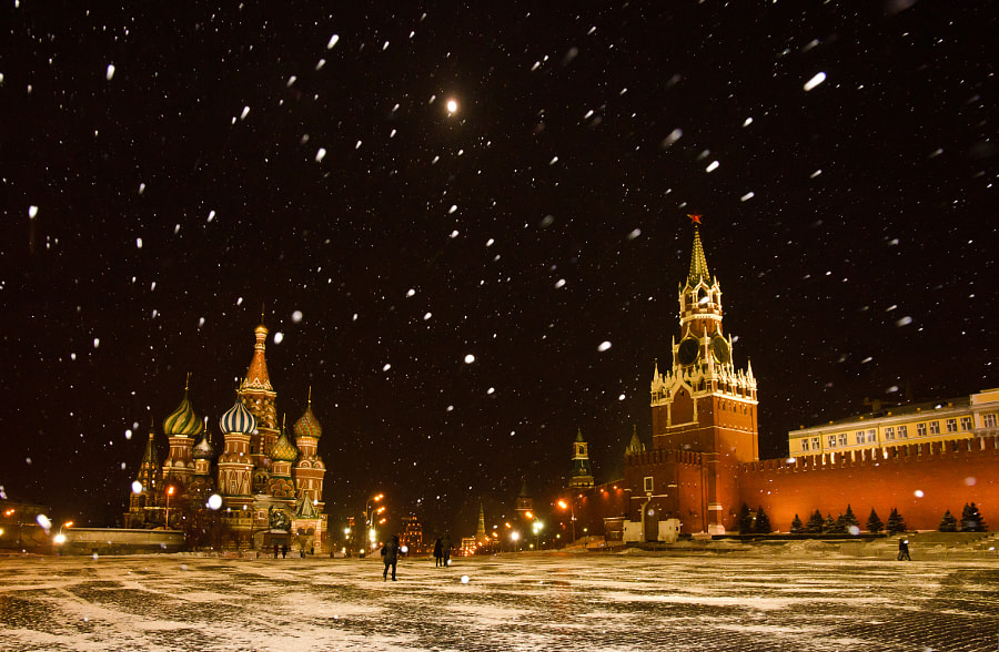Red Square, 25 March 2013 by Tatiana Fomina on 500px.com