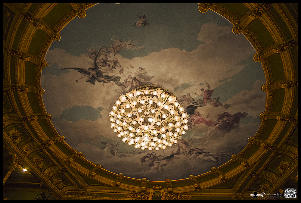 Photograph Theather Main Fresco  by PandaWicked  on 500px