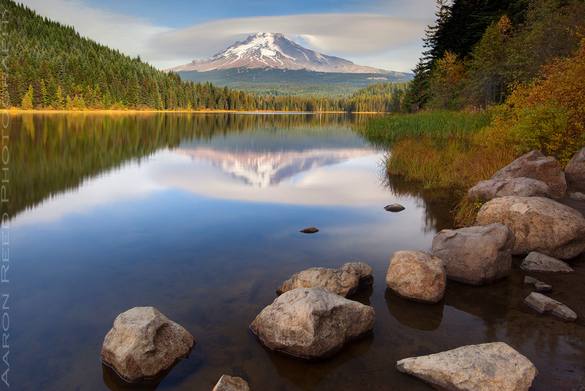 Photograph The Shroud @ Trillium Lake by Aaron Reed on 500px