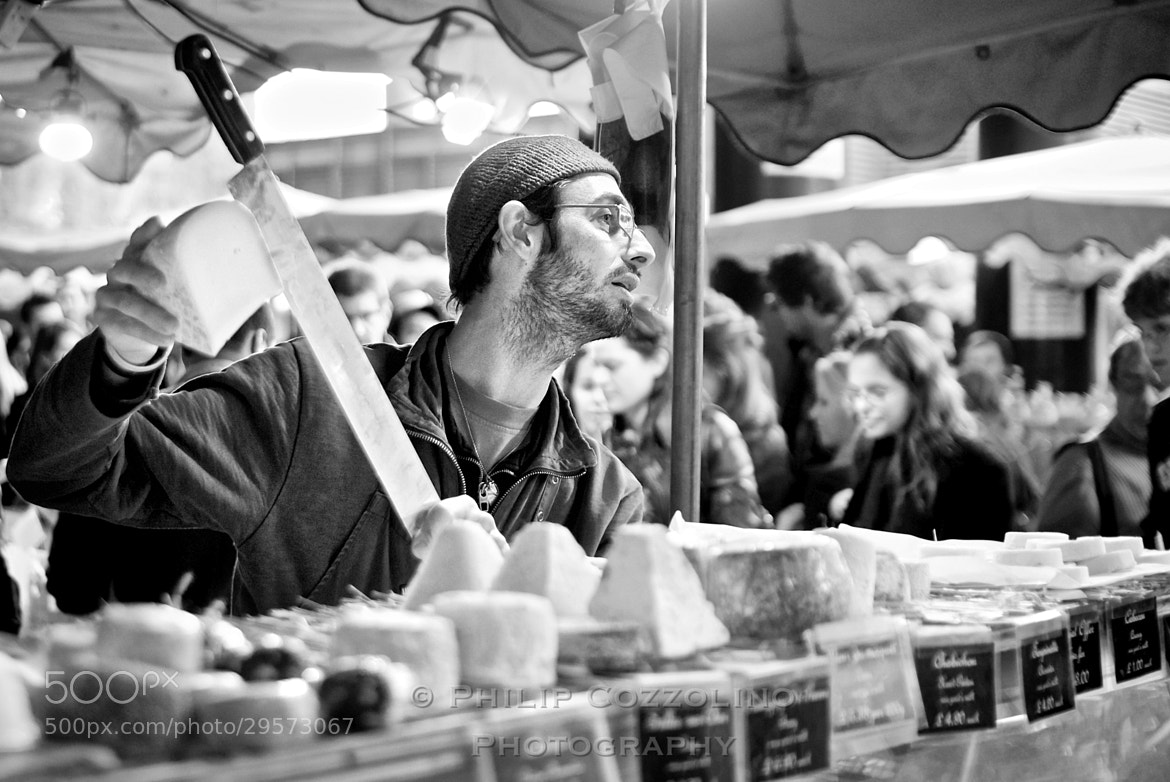 Photograph Cheese Monger by Philip Cozzolino on 500px