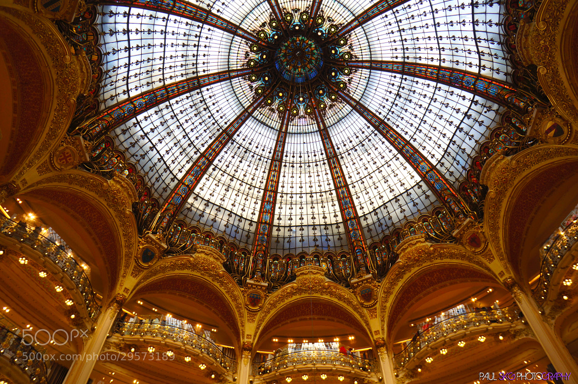 Photograph Galeries Lafayette by Paul SKG Photography on 500px