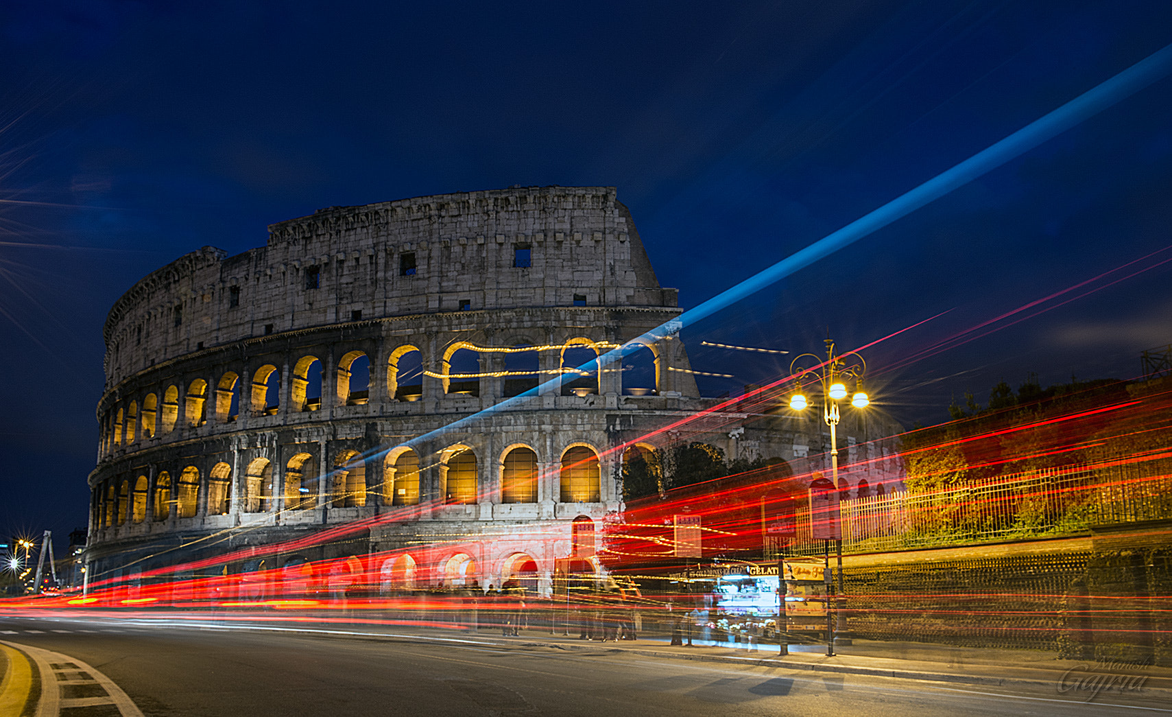 Photograph Colosseum by Night by Manish Gajria on 500px