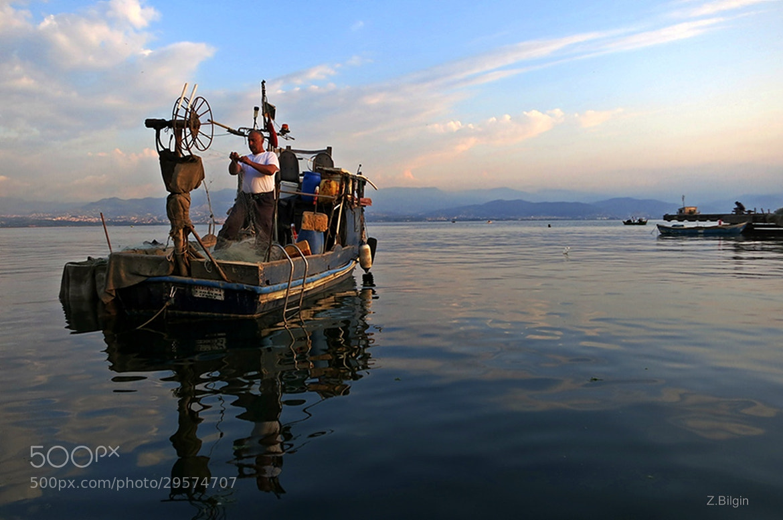 Photograph Fisherman...! by Zeki Bilgin on 500px