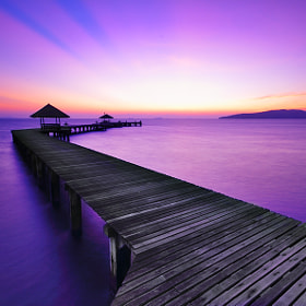 seascape on the docking 05.56 AM by Prachit Punyapor (PCHT)) on 500px.com