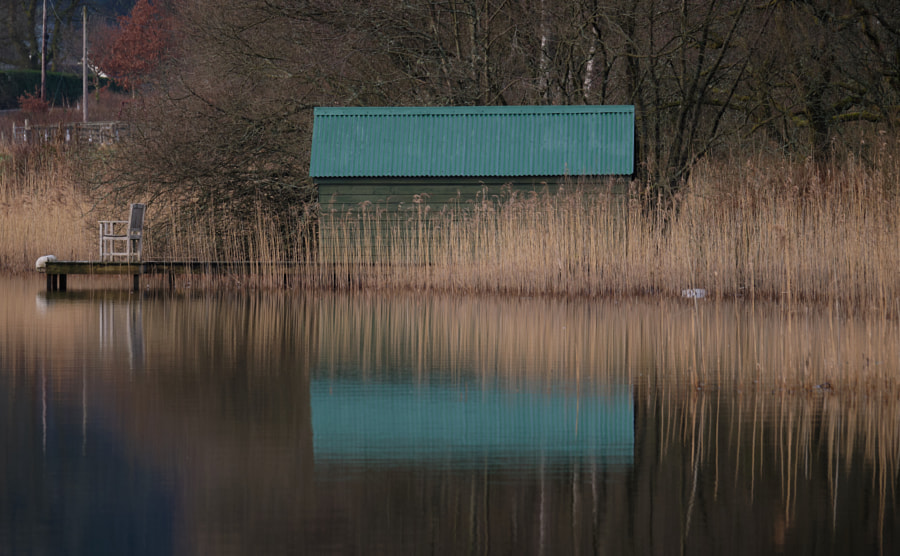 Loch Ard Boat House by Nick Hood on 500px.com