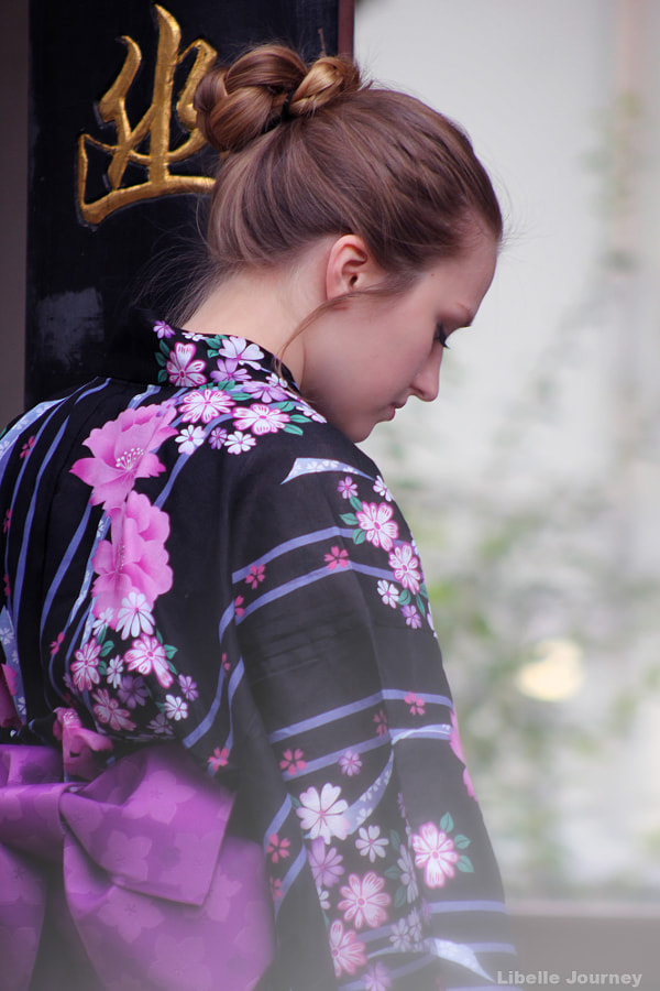 Girl in yukata by Margarita Denisenko on 500px.com