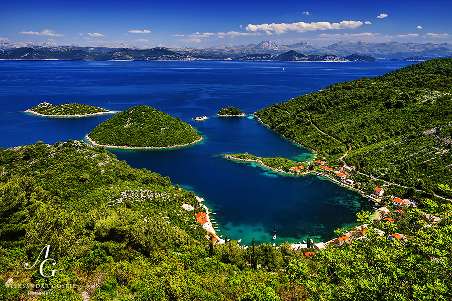 Prožurska Luka (Prožurska Harbour) is a small village on the amazingly beautiful Croatian island of Mljet