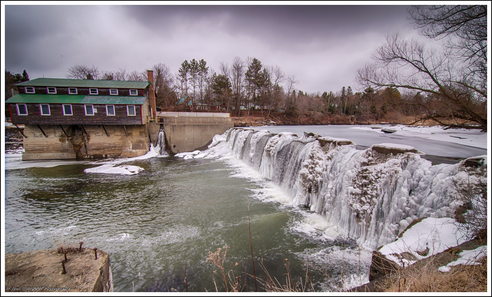 Photograph Dam cold by Jean Godbout on 500px