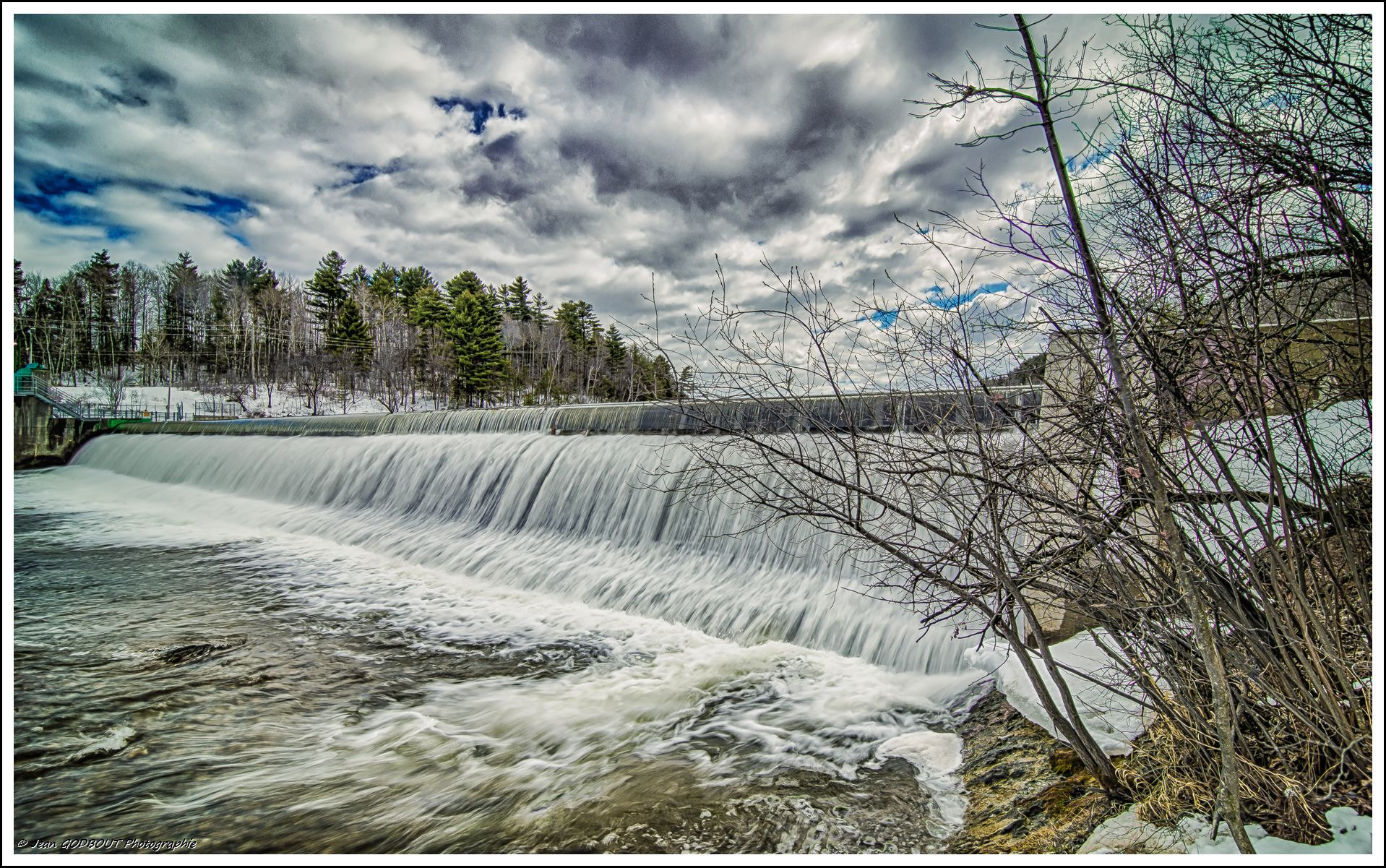 Photograph Dam - HDR by Jean Godbout on 500px