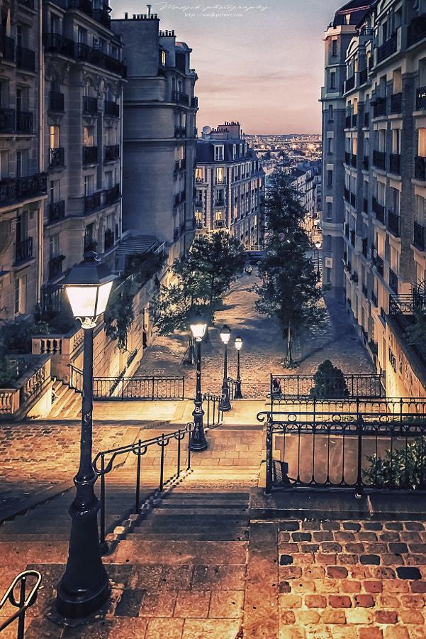Montmartre by Manjik photography on 500px.com