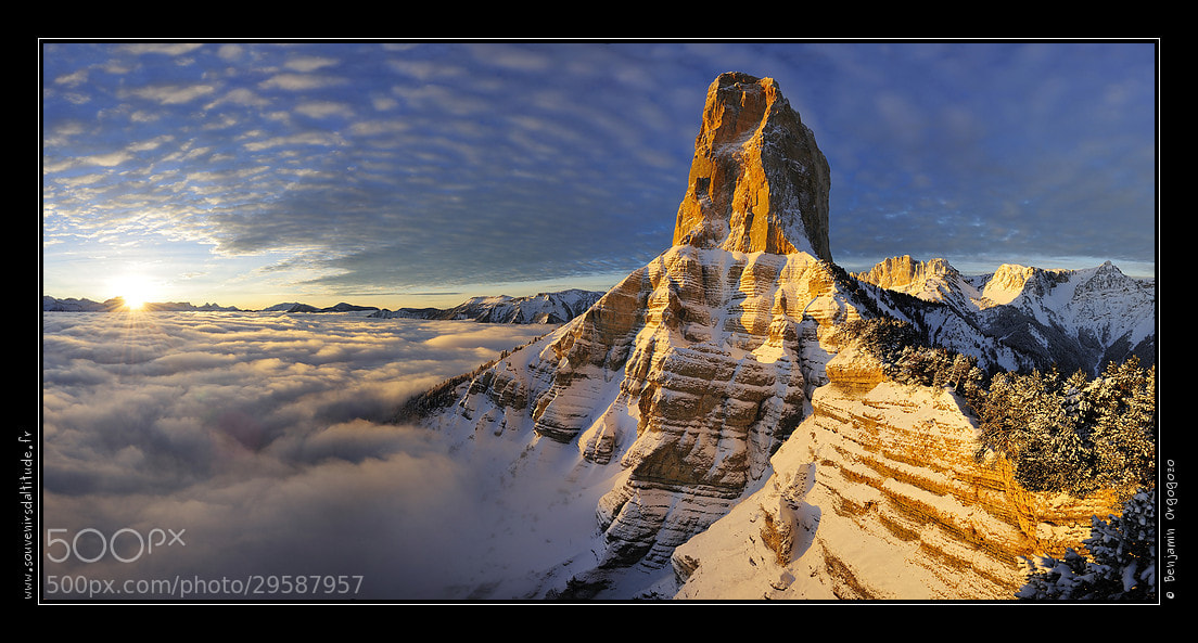 Photograph Majestueux Mont Aiguille by Benjamin Orgogozo on 500px
