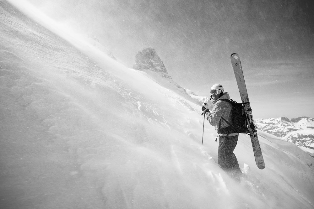 Photograph Earn your turns by Martin Pålsson on 500px