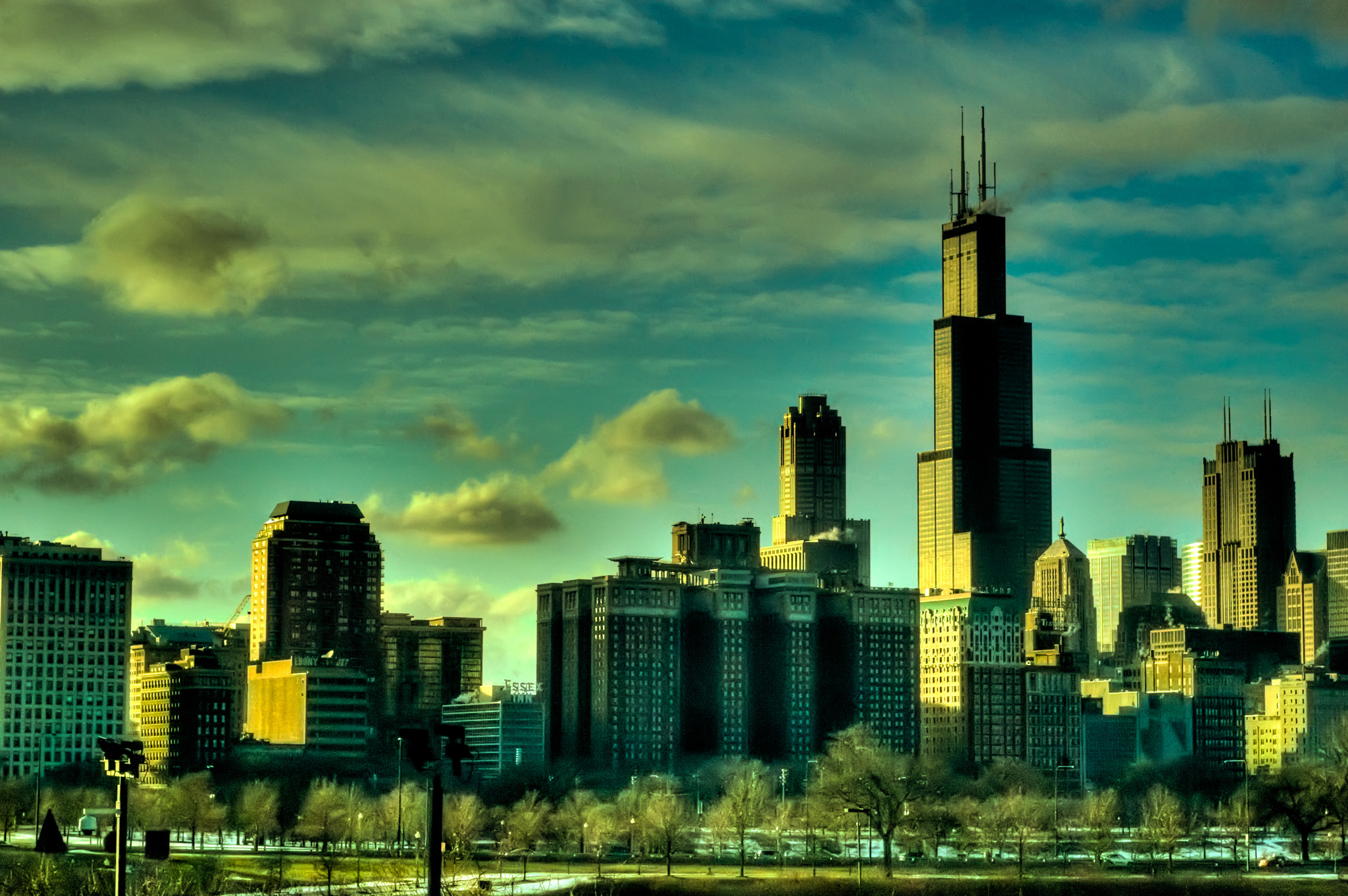 Photograph Chicago Skyline by Brian Burt on 500px