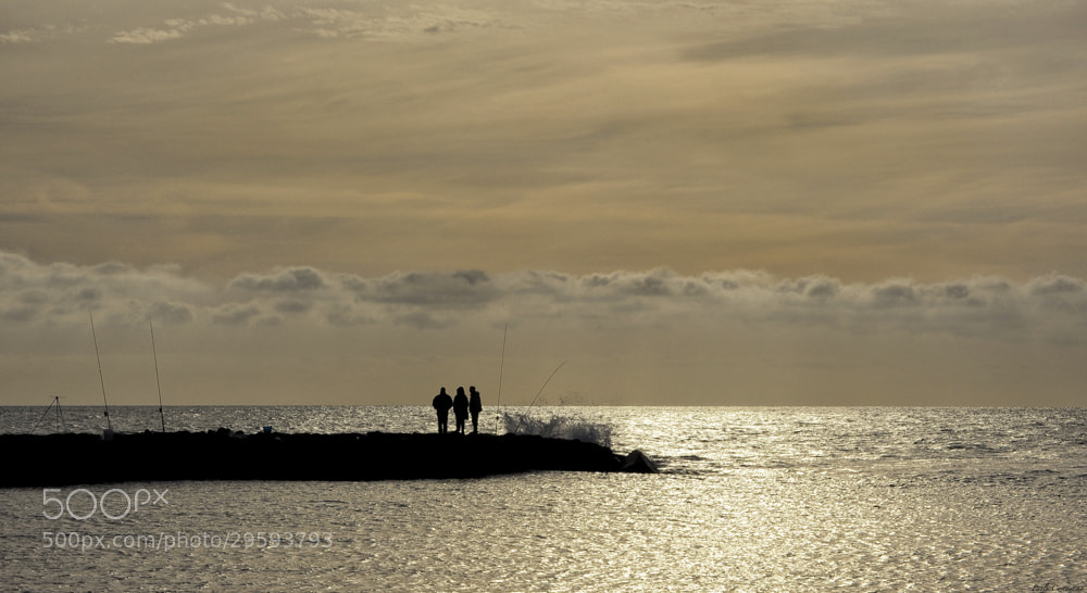 Photograph  Talking at sunset by Paolo Costantino on 500px