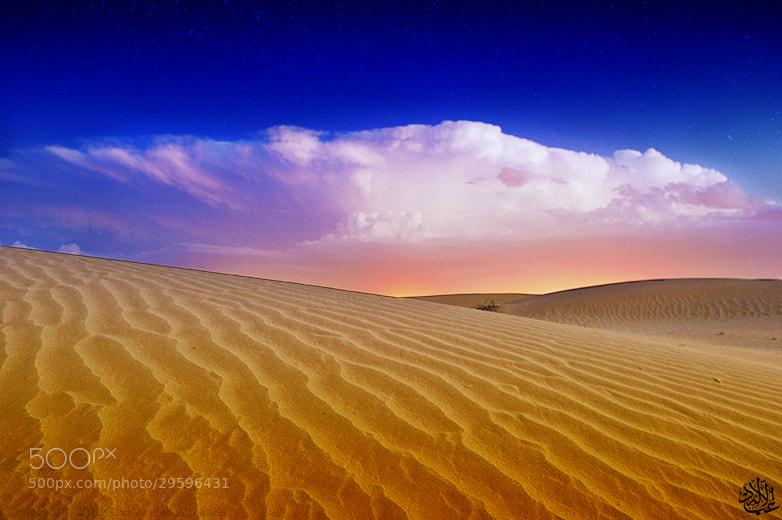 Photograph Rainy desert by Abduleelah Al-manea on 500px