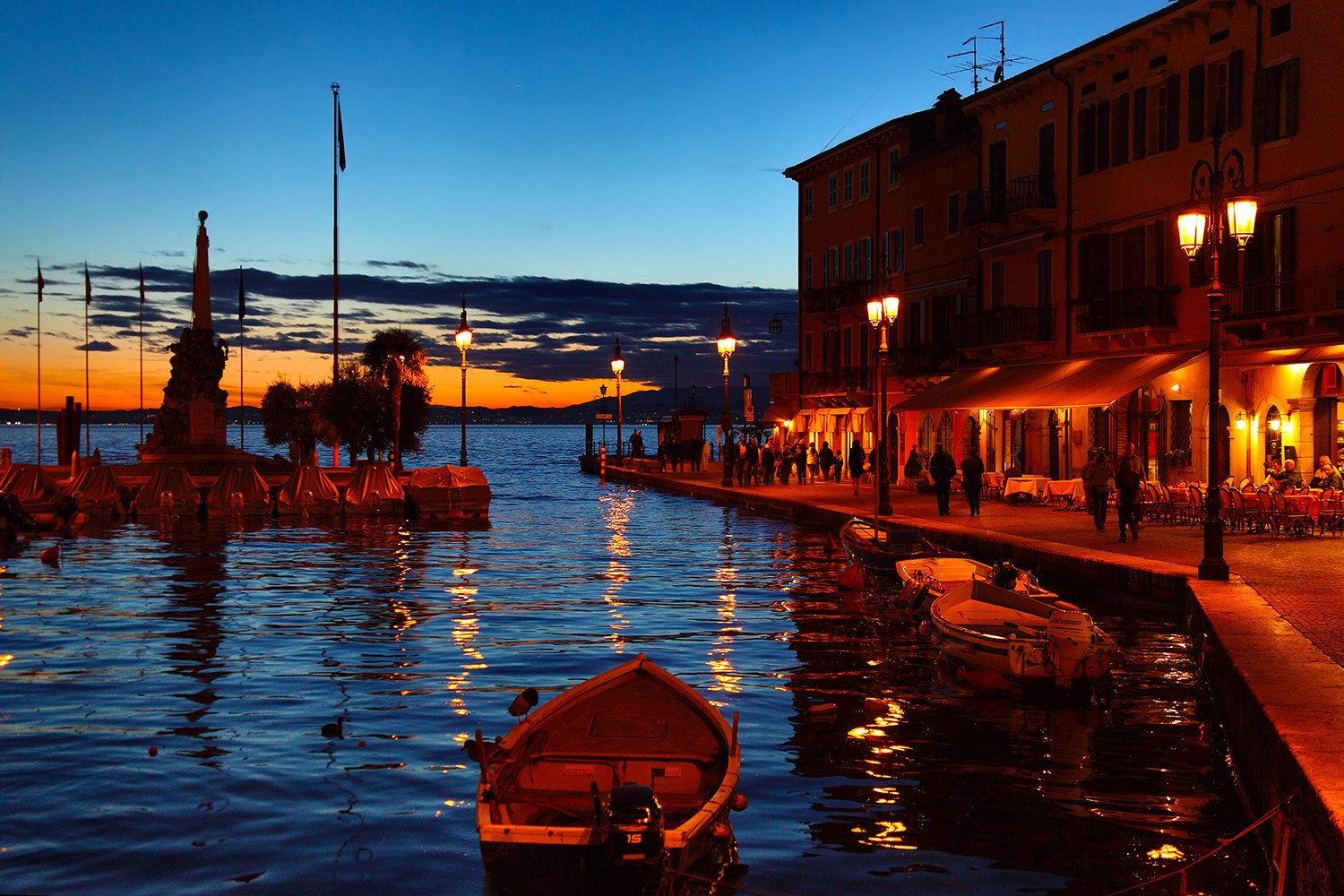 Photograph Sunset at Lazise,Garda Lake by Paolo Guidetti on 500px