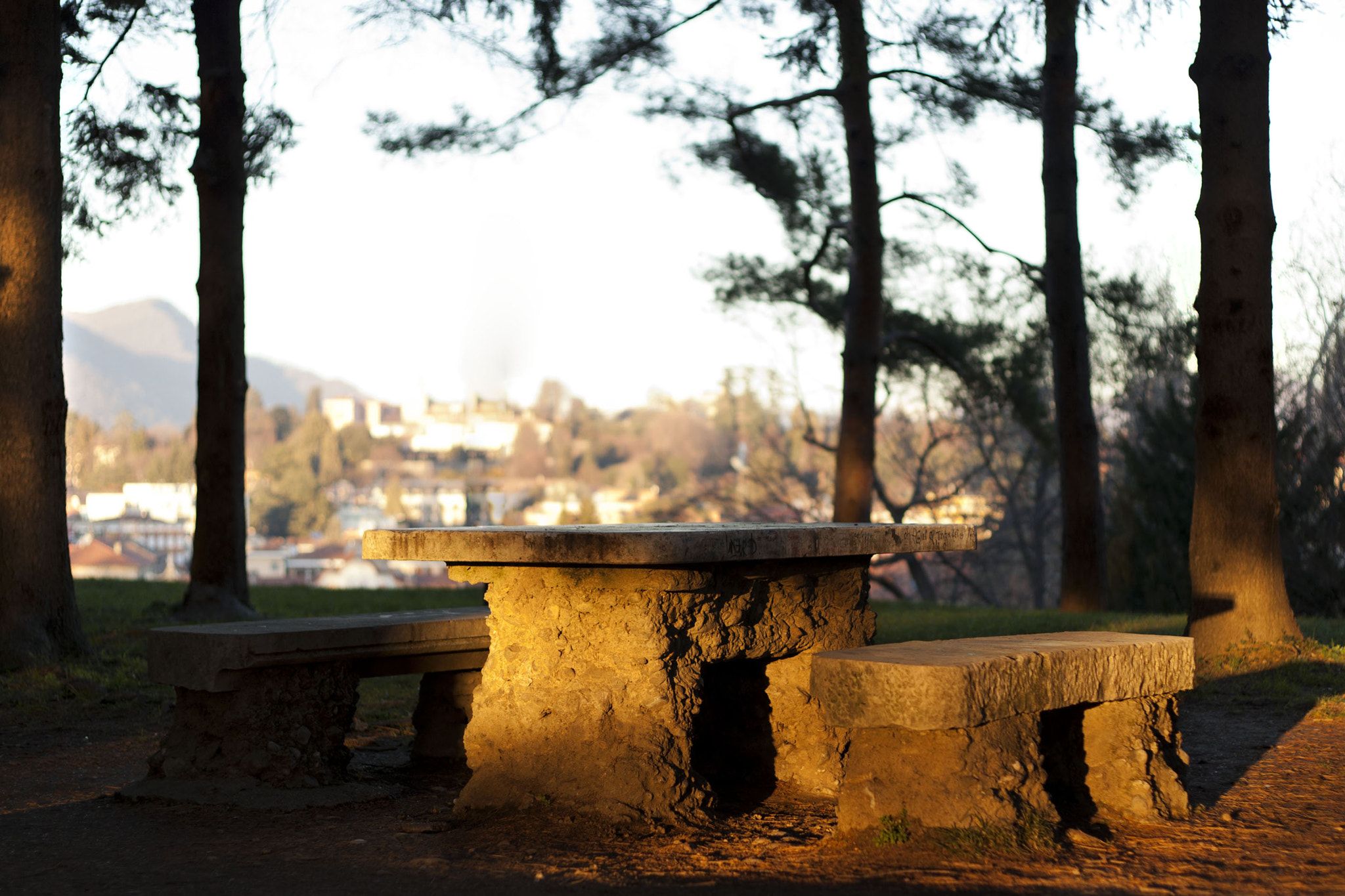 Photograph Stone table by Albano Piazza on 500px