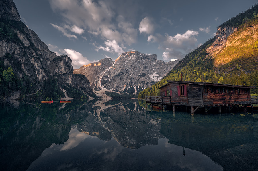 Lago di Braies by Christian S. on 500px.com