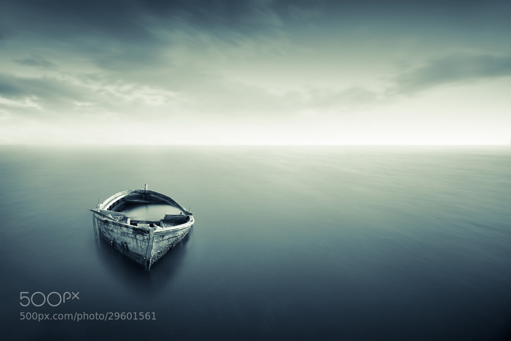 Photograph Alone in the sea by nelaco  on 500px