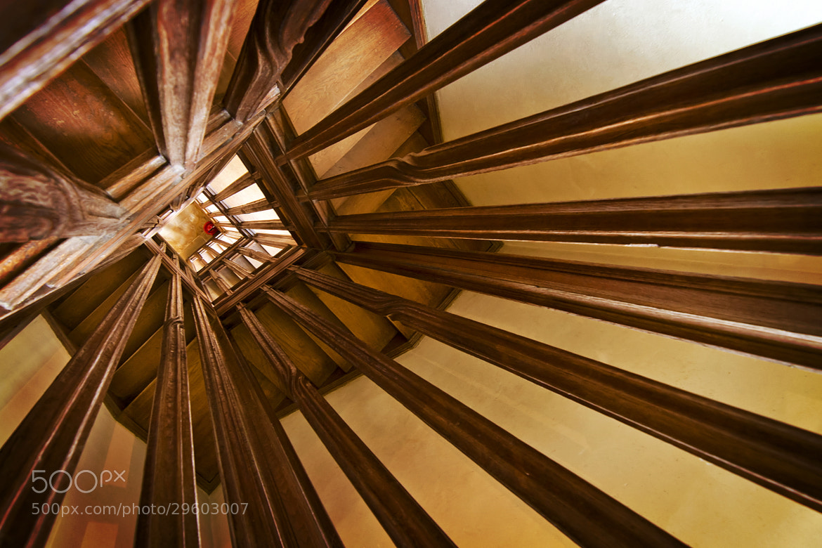 Photograph Stair well, Barrington Court by Chris Spracklen on 500px