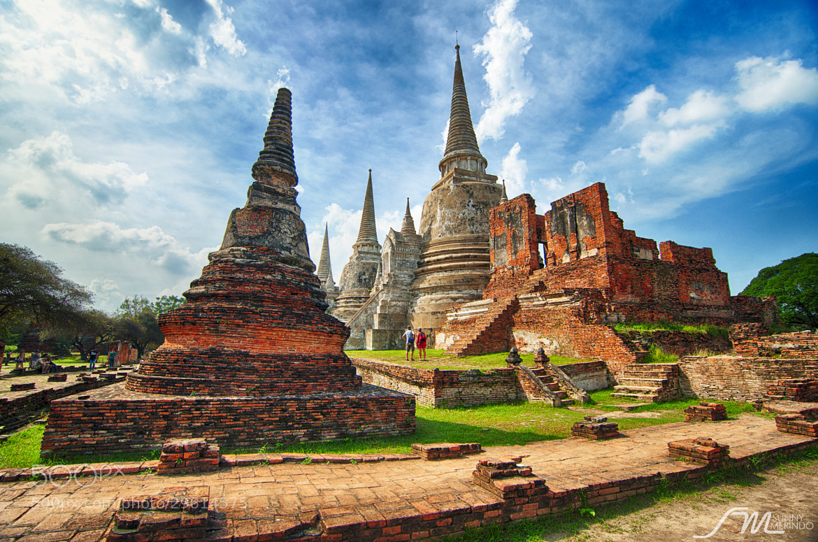 Photograph  Wat Phra Si Sanphet in Ayutthaya Thailand by Sunny Merindo on 500px