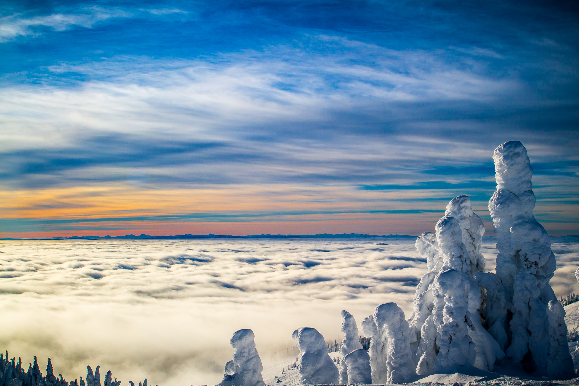Photograph Sea of Clouds by Ben J  on 500px