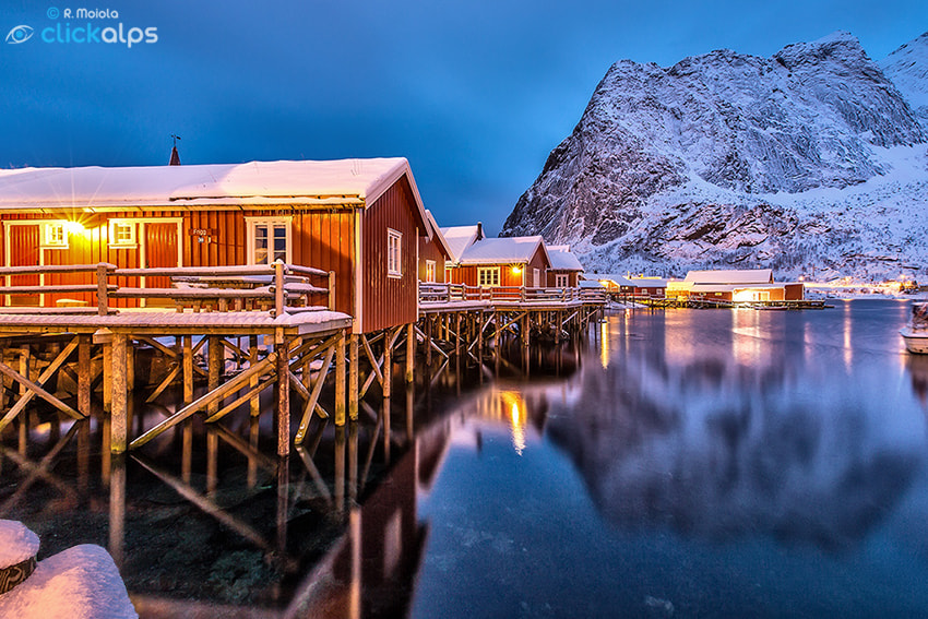 Photograph Rorbu in Reine by Roberto Sysa Moiola on 500px
