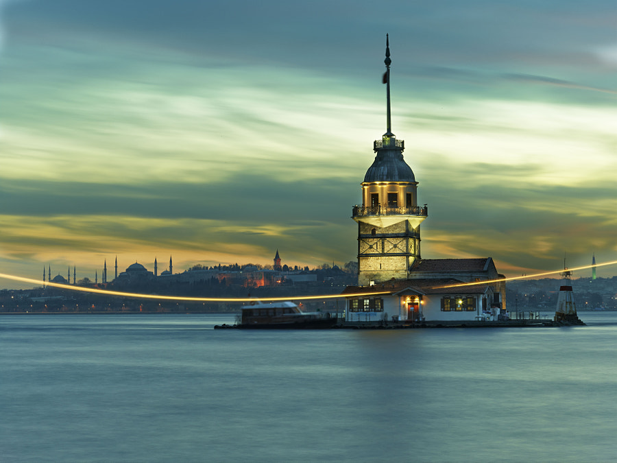 Kiz Kulesi Tower 2 by Fokion Zissiadis on 500px.com