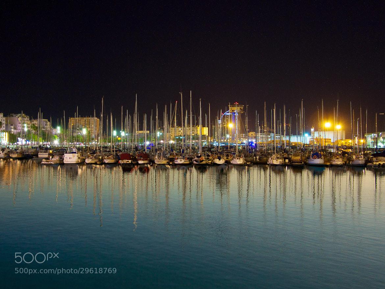 Photograph Barcelona, Spain harbor day&night by Sebastiaan Verschuren on 500px
