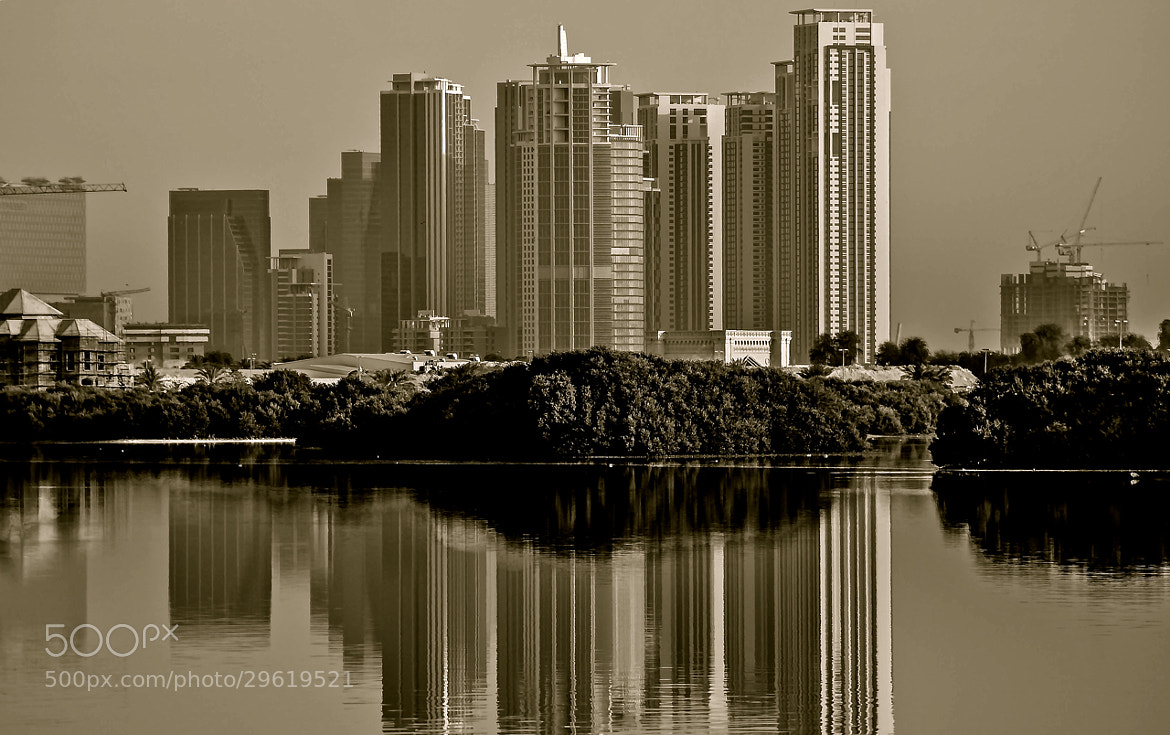 Photograph The New Financial district, Reem Island, Abu Dhabi by julian john on 500px