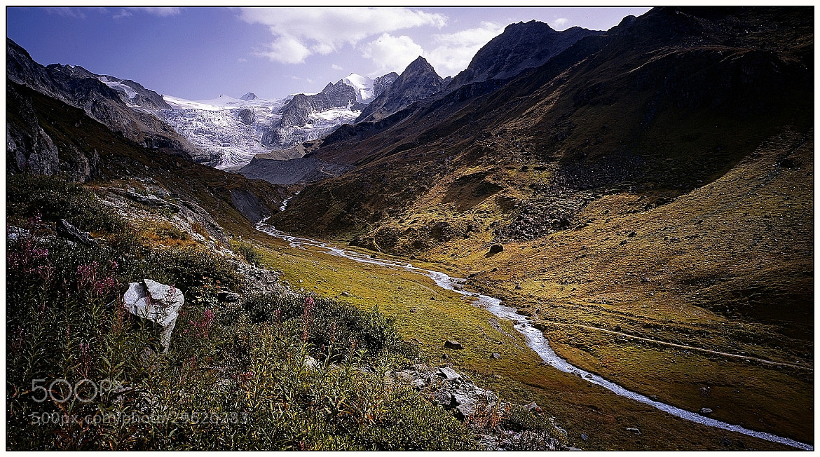 Photograph Silent mountain valley by Arne Link on 500px