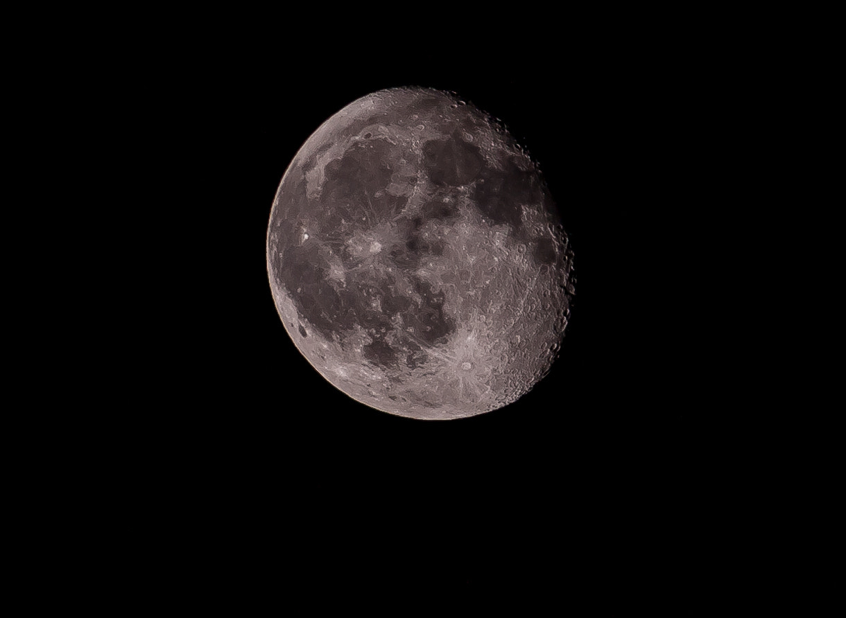 Photograph Shooting the Moon (Again) by John Goral on 500px