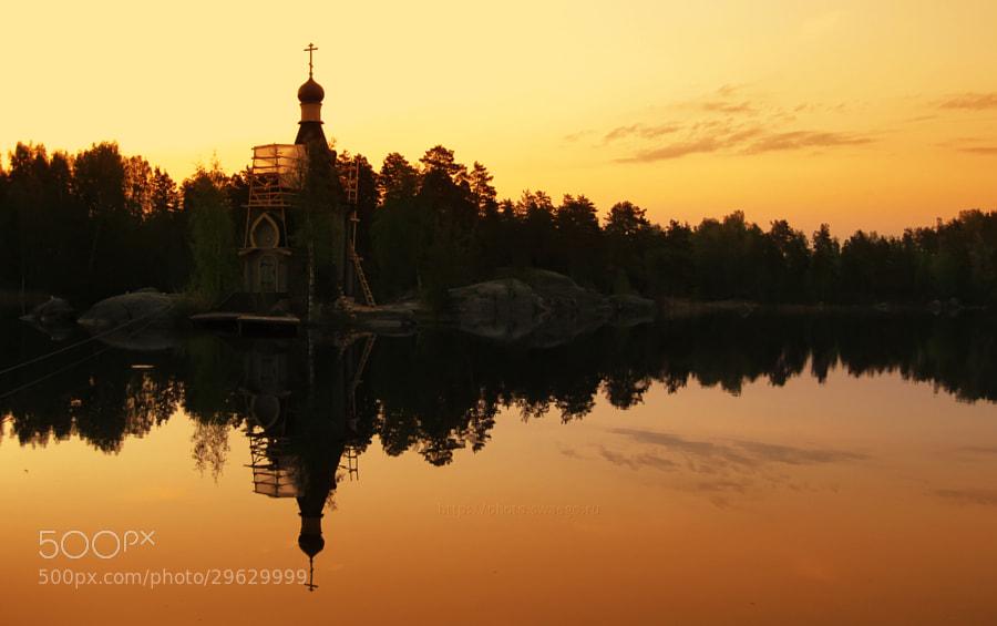 Church on the River by Tolik Maltsev on 500px.com