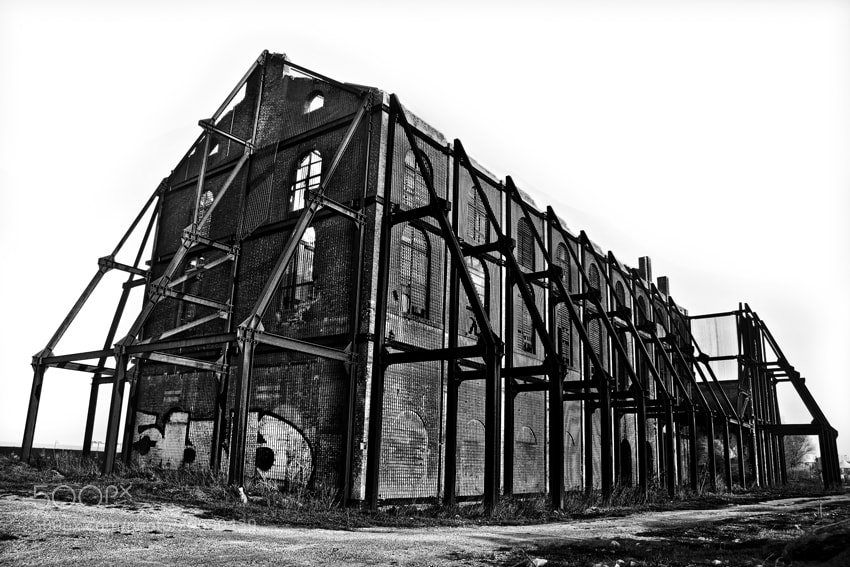 Photograph Ruins industrial Plant by mario pignotti on 500px