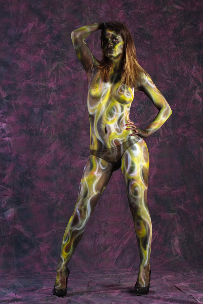 Photograph Body Painting Mira by Luigi Prearo on 500px