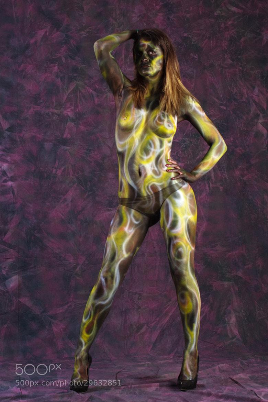 Photograph Body Painting Mira by Luigi Prearo on 500px