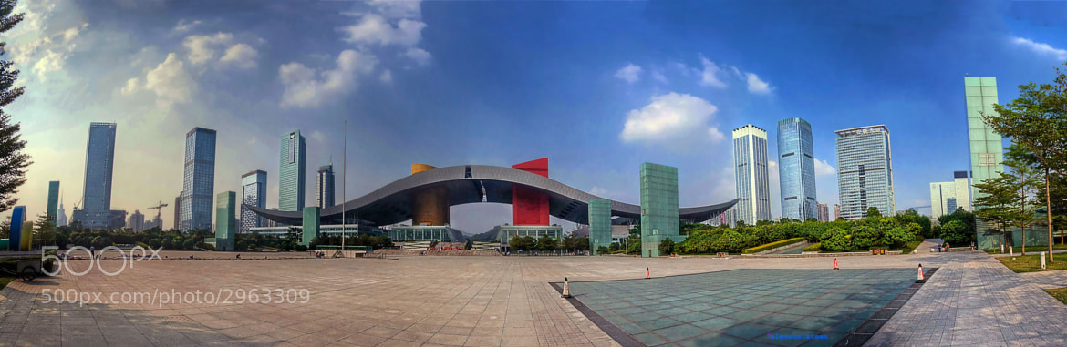Photograph SZ Center Panorama by ES Photoworks on 500px