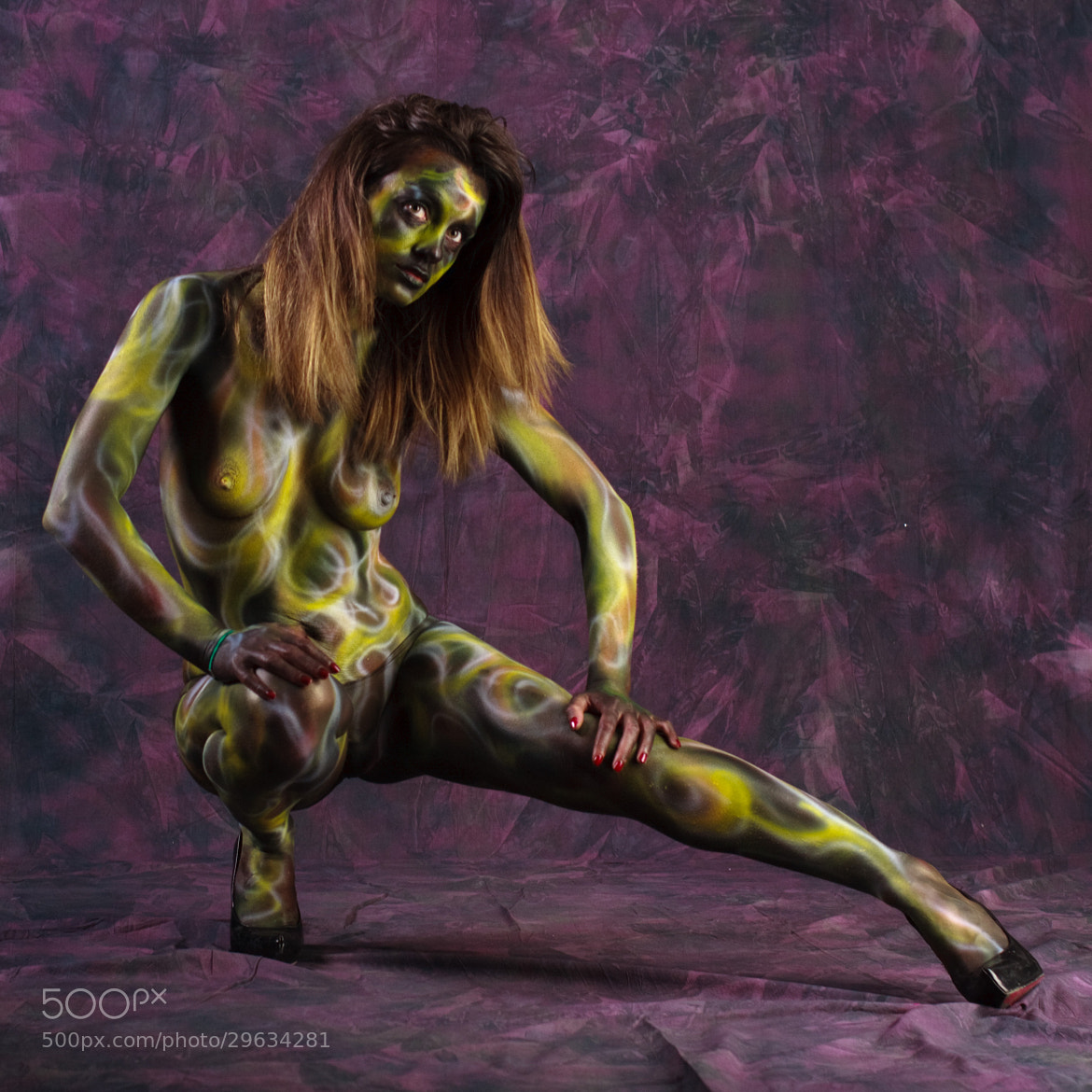 Photograph Body Painting 2013 Mira by Luigi Prearo on 500px