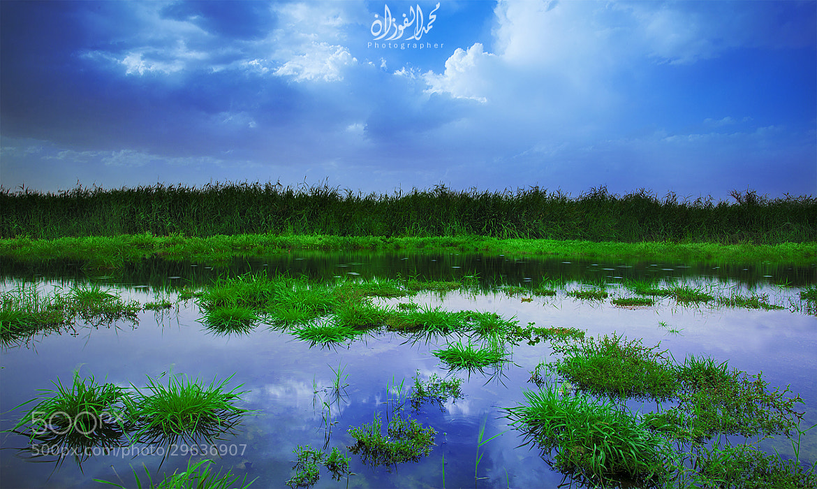 Photograph Reflection Of The Sky by Mohammed Al-Fozan on 500px