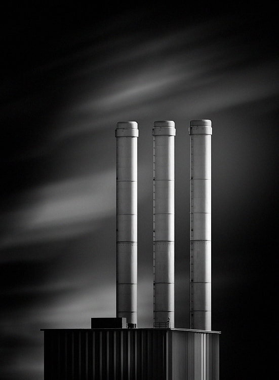 Photograph heating station 03 b&w by Max Ziegler on 500px