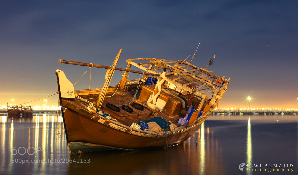 Photograph The forgotten ship by Alwi Almajid on 500px