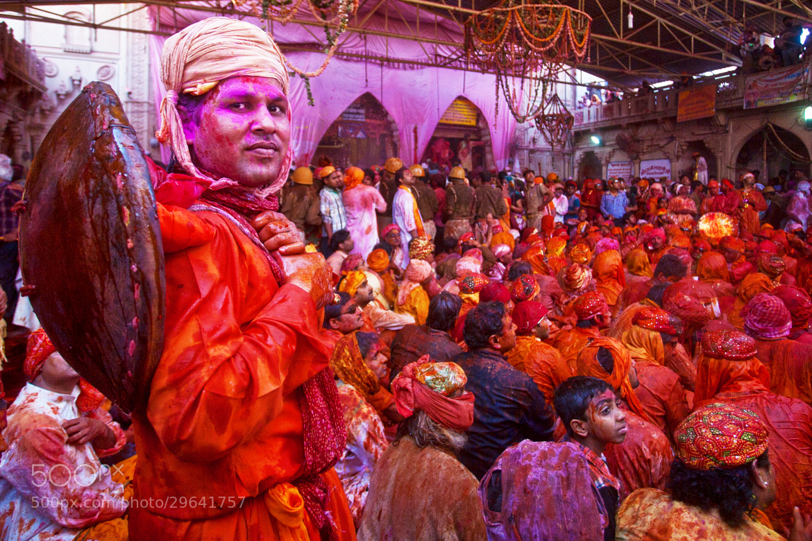 Photograph Braj ki Holi, Barsana, India by Jitendra  Singh on 500px