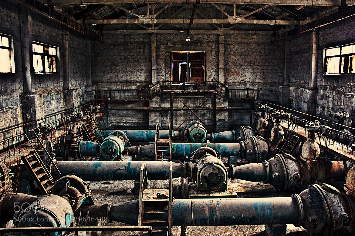 Photograph Abandoned Factory by Aram Kirakosyan on 500px