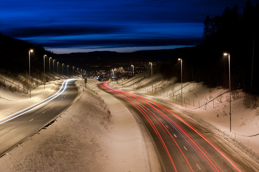 Photograph Trails by Jarle Løv-Kjeldås on 500px