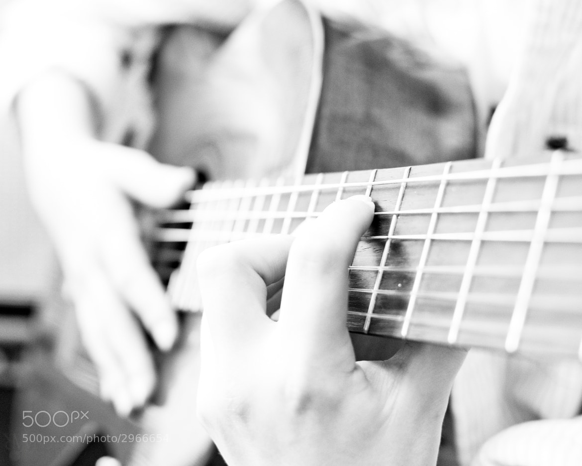 Photograph Chris' Guitar 1 by Wayne Reich on 500px