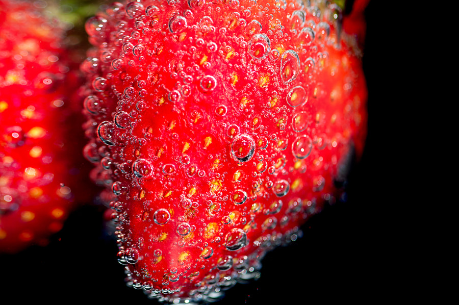 Photograph Strawberry by Karyn Lee on 500px